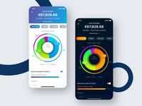 Wealth Management App - Portfolio View