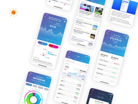 Wealth Management App - Dark vs Light