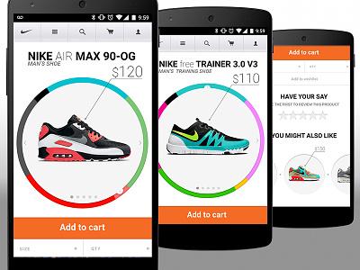 Nike mobile redesign nike redesign