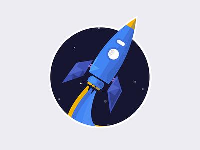 Neural Machine Translations illustration. space rocket google translate google design google