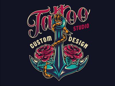 Tattoo Studio Custom Design