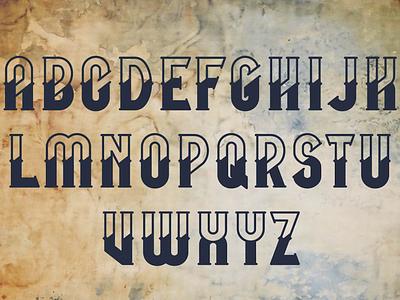 Mooring Font | Nautical font design typeface ocean bonus font awesome graphic vintage adobe illustrator vector illustration vector anchor sea nautical font design fonts font mooring