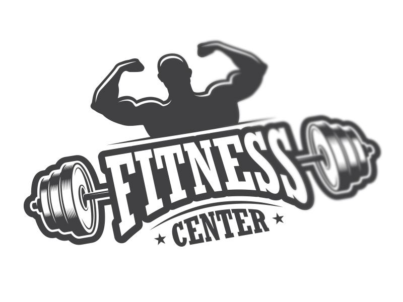 fitness center logo 2 by dgim studio