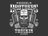Trucker emblem