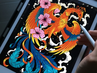 Firebird illustration