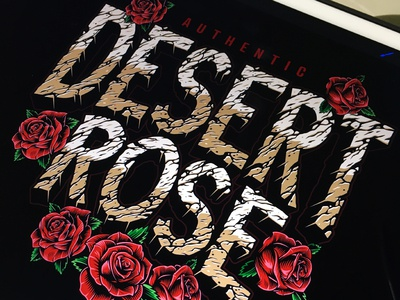 Desert Rock font