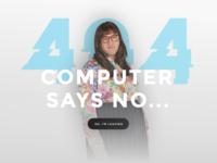 404 Error Page - Little Britain