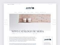 Jumbo Moda - Post page