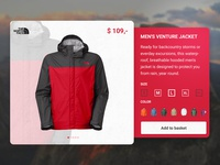 The North Face Product View
