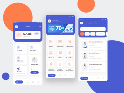 Doctor Admin apps doctor product clean design building medical medical app