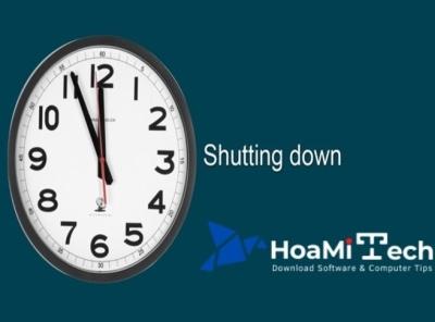 Mách nhỏ 5 cách hẹn giờ tắt máy win 10 hoàn toàn tự động automatic timing hoamitech