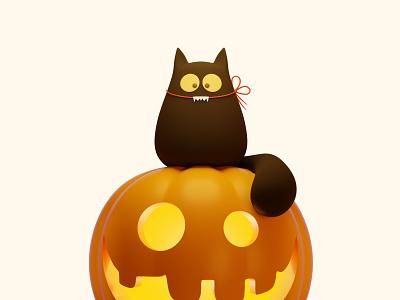 3D Pumpkins For Halloween pumpkins creative 3ddesign holiday october pumpkin halloween illustration 3dartist