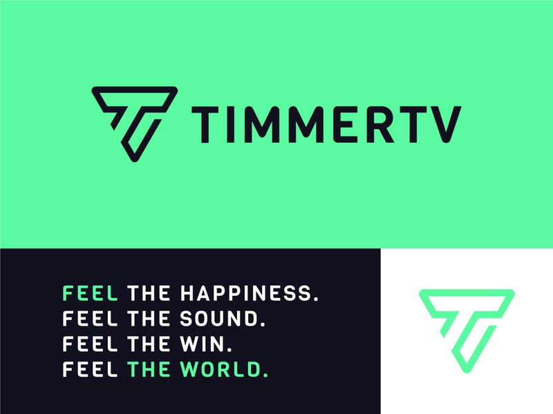 TimmerTV - Video Agency video marketing video logo play button logo play button t logo triangle logo play video agency video logo