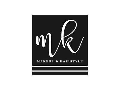Logo for MK minimal logo