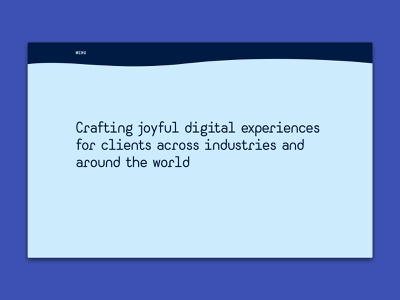Personal website minimal design web development
