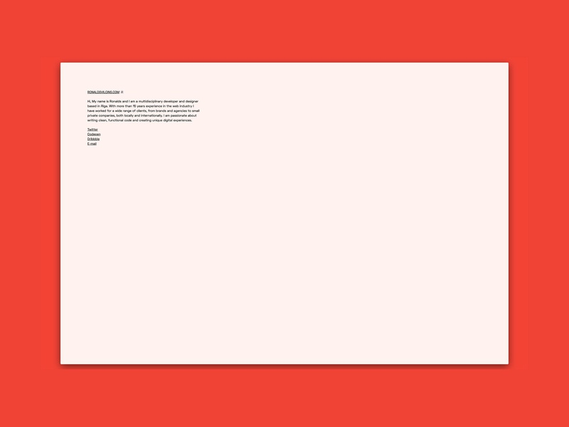 Back to minimal site design frontend design space grotesk jekyll web development minimal
