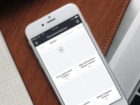 Wireframes for Fashion App - BBQ