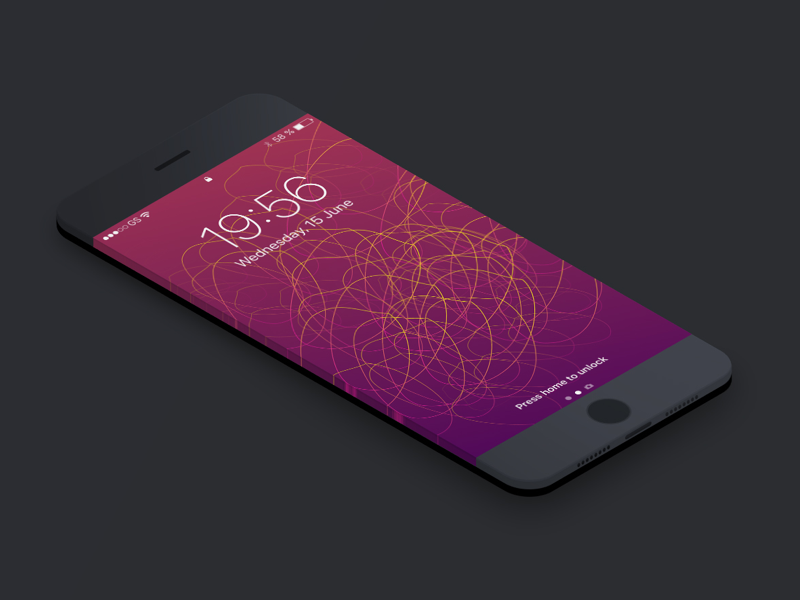 Free iPhone 6 & 7 Wallpaper 005