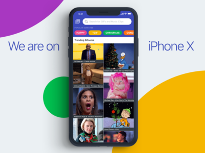 Gifnote on iPhone X