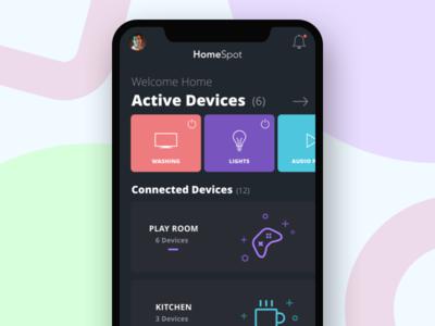 Home Spot - iOS app design