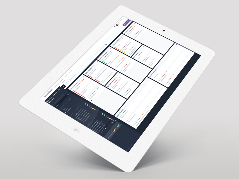 Launchboard.io redesign software redesign remove designer ui designer design responsive software launchboard app ios launchboard.io