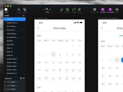 Midnight - Dark Theme Sketch Plugin 🕶️ san francisco designer remote designer freelance designer sketch ui ui design sketch plugin theme sketch dark theme midnight
