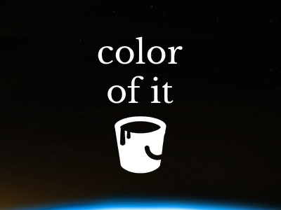 Color Of It - find the color of things things tool site colors color