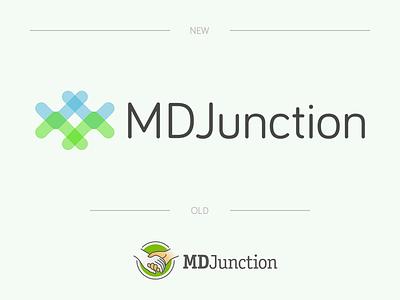 Mdjunction Logo branding brand re-design redesign design logo