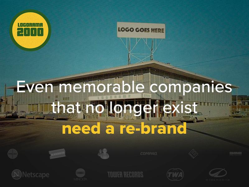 Self project - Logorama2000 logos logo rebranding rebrand logorama2000 logotype logodesign branding