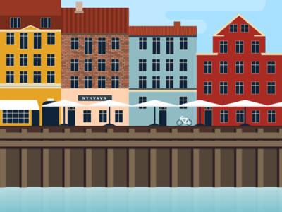 Nyhavn, Copenhagen Scene 🇩🇰