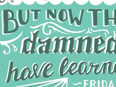 Fun lettering is afoot