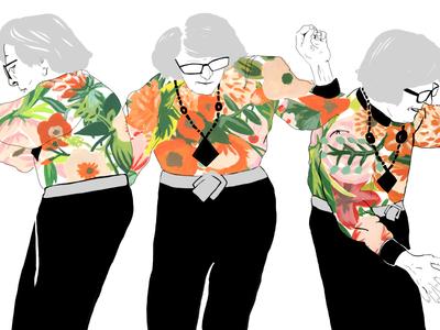 WIP–Nonna Dancing