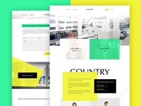 Country webdesign