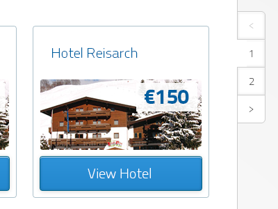 Pagination thediscountcard tdc hotels discount winter cold card pixel perfect sneakpeak webdesign pagination navigation menu button