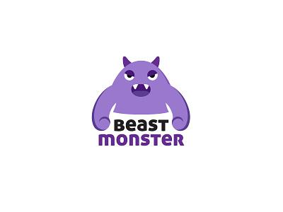 Beast Monster cartoon monster character design