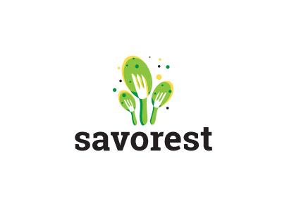 Savorest cook cooking eating restaurant flavor savory food logo design logo