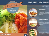 Yummiest Homepage Template