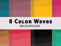 Color Waves Background