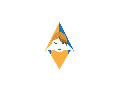Northern Miss character design girl logo design logo