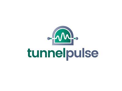 Tunnel Pulse pulse tunnel logo design logo