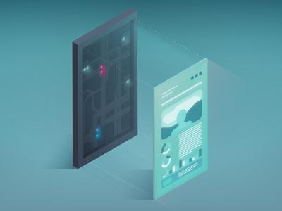 Interactive Experience Illustration 2