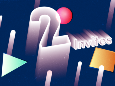 2x dribbble invites available before end of the week!