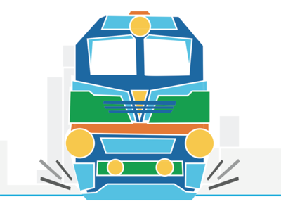 Train municipality tel-aviv train figure