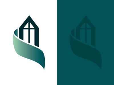 Victorian Real Estate Logo green real estate victorian logo