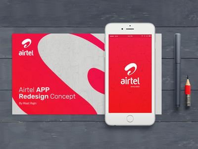 Airtel App Redesign