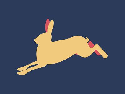 Hare belarus заяц illustration branding logotype design retro 90s old style design illustrator logo vector