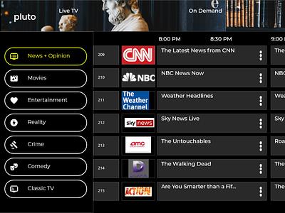 Smart TV App part 1 dailyui