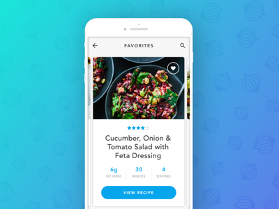 Recipe Card Concept food card ui shadow grocery ui user interface design mobile recipe ios cooking app