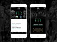Boston Celtics App Concept