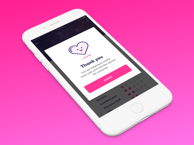 Success Screen mobile design success screen cute ui design ui ux user interface ios icon feminine design app